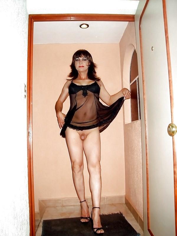 Tchat webcam avec une transsexuelle mature